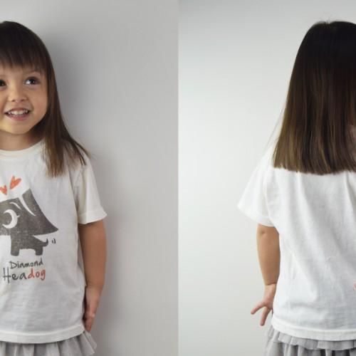 Kid's Tshirt with 111-Hawaii character mascot