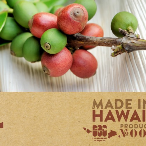 Made in Hawaii gift 100% iced kona coffee