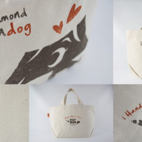 tote bag with Diamond Headog is a great gift
