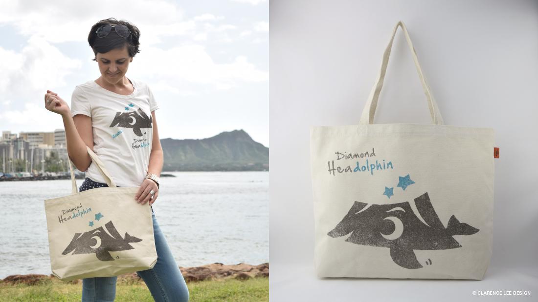 ハワイのキャラクターバッグは女性へのお土産に