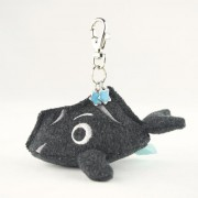 Diamond Headolphin mini soft key chain