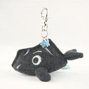 Diamond Headolphin mini soft key chain