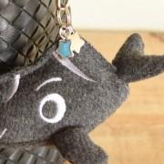 Character mini soft Keychain