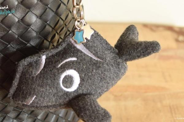 111-Hawaii character mini soft key chain