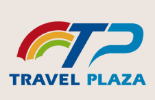 travel plaza logo