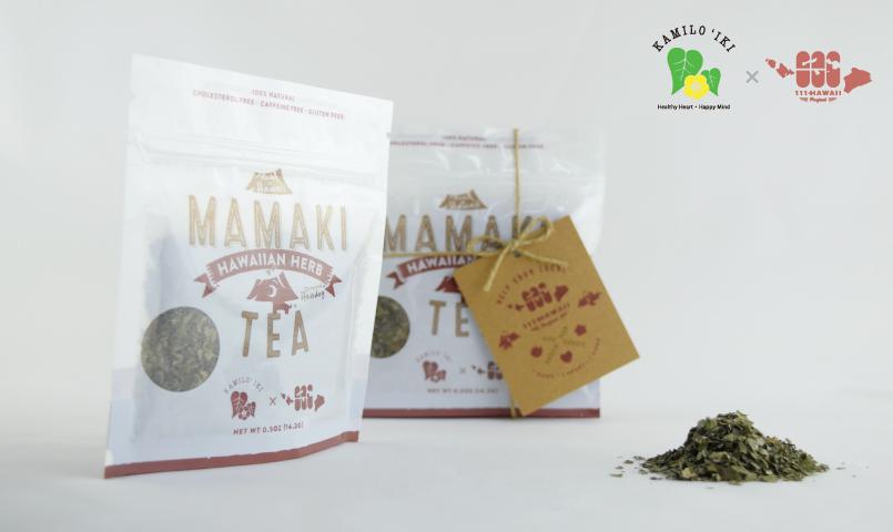kamiloiki mamaki tea