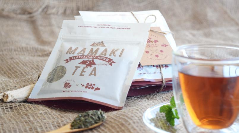 mamaki tea tasting
