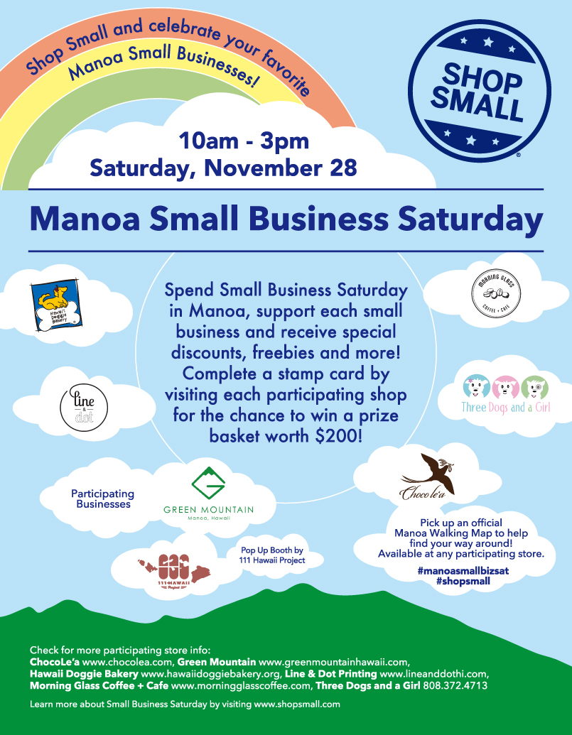 Manoa Small Business Saturday