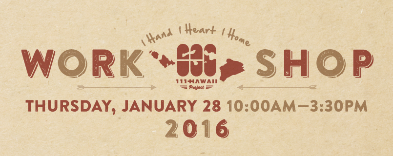 111-HAWAII Workshop 2016