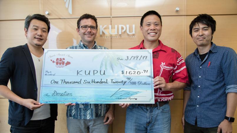 KUPU donation