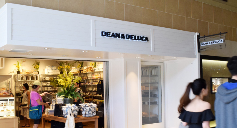 Dean & Deluca at the Royal Hawaiian Shopping Center
